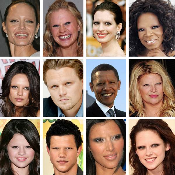 celebs without brows