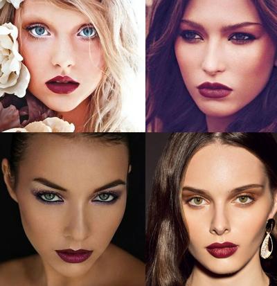 maroon-lips