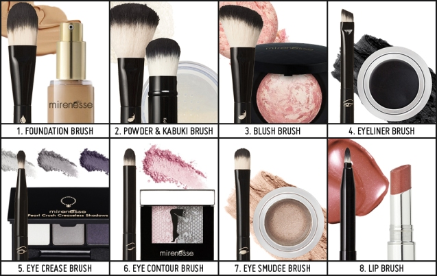 makeup brush differences